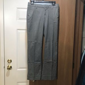 Women's Gap grey dress pants- 2 long